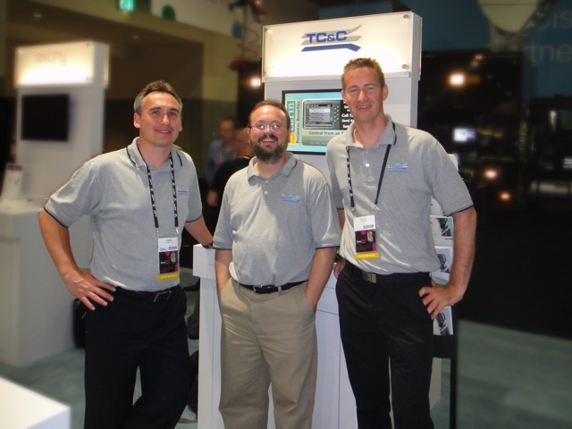 TC&C team at Cisco Live 2012 in San Diego
